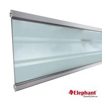 Elephant | Modular Deco lamel | Transparant | Aluminium