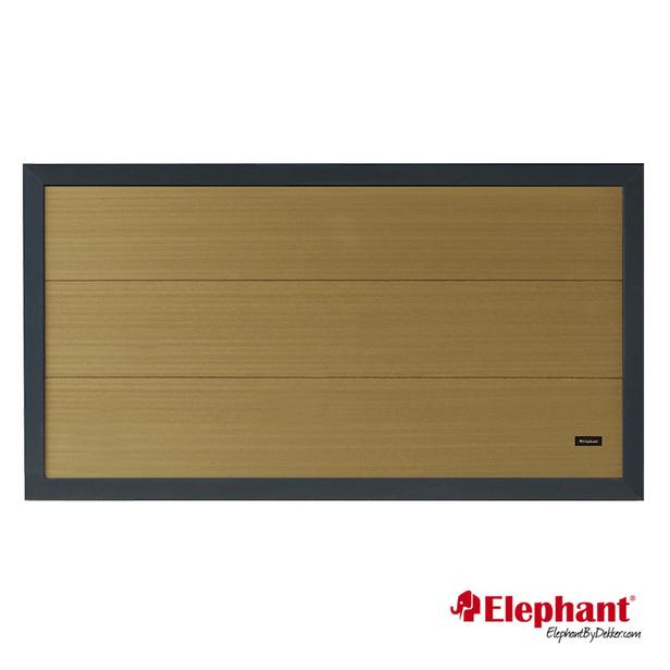 Elephant | Tuinscherm Forte | 180x93 cm | Teak/antraciet