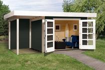 WEKA | Designhuis 126 A | 445 x 300 cm | Antraciet