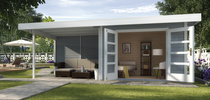 WEKA | Designhuis 126 B | 590 x 240 cm | Grijs