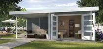 WEKA | Designhuis 126 B | 590 x 300 cm | Grijs