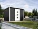 WEKA | Designhuis 'wekaLine' 413 Gr.1 | 250x250 cm | Antraciet