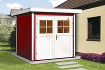 WEKA | Tuinhuis 227 Gr.1 | 205x209 cm | Zweeds rood