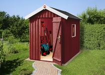 WEKA | Zweeds tuinhuis | 162 x 168 cm | Zweeds rood