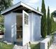 WEKA | Tuinhuis 229 Gr.1 | 205x209 cm | Grijs
