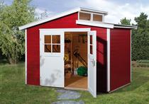 WEKA | Tuinhuis 226 | 295 x 209 cm | Zweeds rood