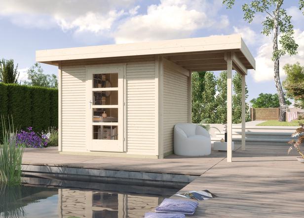 WEKA   Designhuis 'wekaLine' 172A Gr.1   352x210 cm