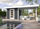 WEKA | Designhuis 'wekaLine' 172B Gr.3 | 590x300 cm | Antraciet