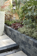 Gardenlux | Nature Walling hoek 29x13x11 | Grijs/zwart