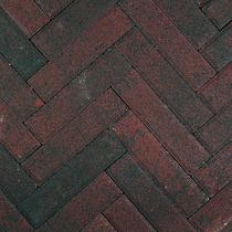 Gardenlux | Klinkerkei keiformaat 10x20x6 | Rood/zwart