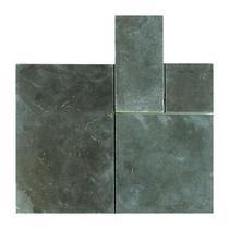 Gardenlux | Asian Bluestone 50x50x3 | Getrommeld