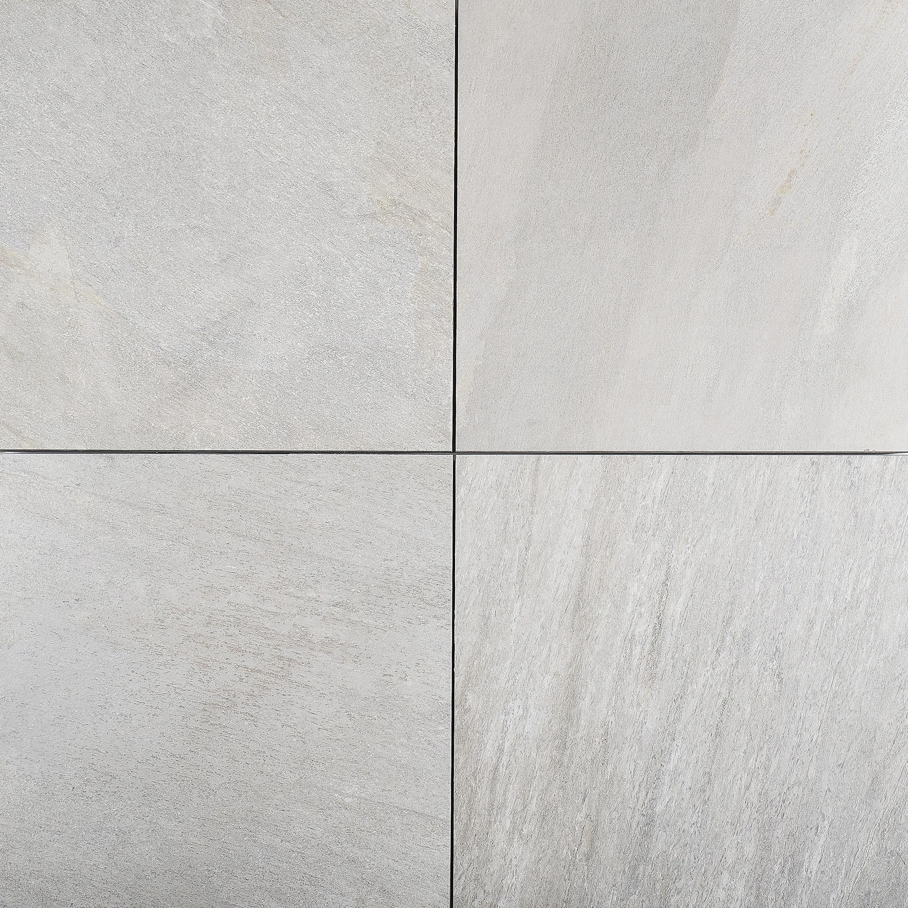 Gardenlux | Ceramento 60x60x4 | Cuarcita Gris