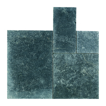 Gardenlux | Palacio Dark Blue 40x80x3 | Getrommeld
