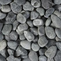 Gardenlux | Beach Pebbles 40-60 mm zwart | 20 kg