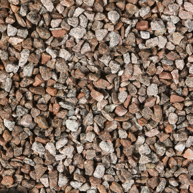 Gardenlux | Graniet split 8-16 mm rood/grijs | Midibag 0.5 m3