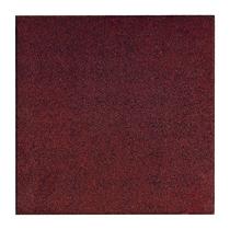 Gardenlux | Rubber speelplaatstegel met steekverbinding 50x50x3 cm | Rood