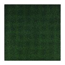 Gardenlux | Rubber speelplaatstegel met steekverbinding 50x50x3 cm | Groen