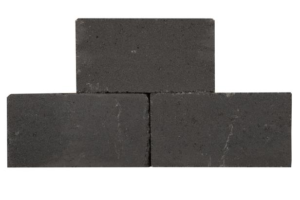 Palino Block | Getrommeld 45 x 15 x 15 cm | Antraciet