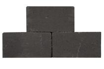 Palino Block | Getrommeld | 45 x 15 x 15 cm | Antraciet