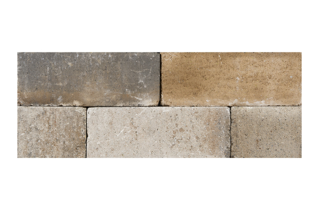 Palino Block | Getrommeld | 45 x 15 x 15 cm | Lime