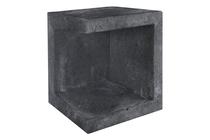 Gardenlux | U-element hoek 40x40x50 | Zwart