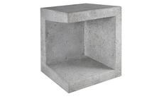 Gardenlux | U-element hoek 40x40x50 | Grijs