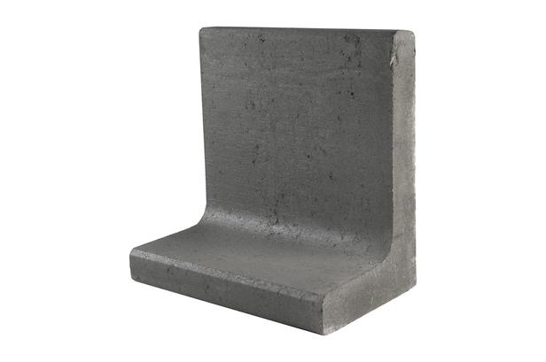 Gardenlux | L-element | 50 x 30 x 40 cm | Grijs