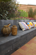 Gardenlux | Retro Betonbiels 12x20x120 | Zwart