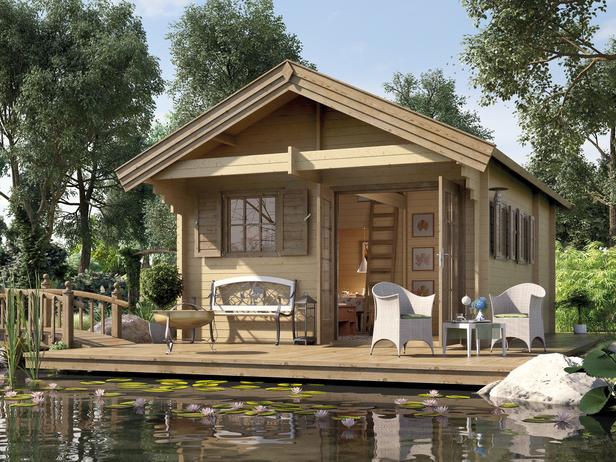 weka weekendhuis 155 560 x 430 cm. Black Bedroom Furniture Sets. Home Design Ideas