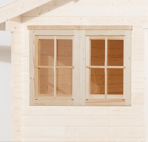 WEKA | Dubbel raam tbv 21 en 28 mm wanden