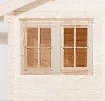 WEKA | Dubbel raam tbv 21 mm wanden