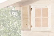 WEKA | Raamluik voor raam 69 x 79 cm | Eenzijdig