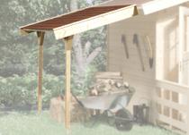 WEKA | Lessenaarsdak B | Vanaf 300 cm huisdiepte