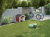 WEKA | Garage voor maairobot 367 | Zweeds rood