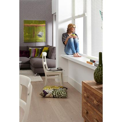 Cando vensterbank decoratief 410x29 cm wit for Vensterbank praxis