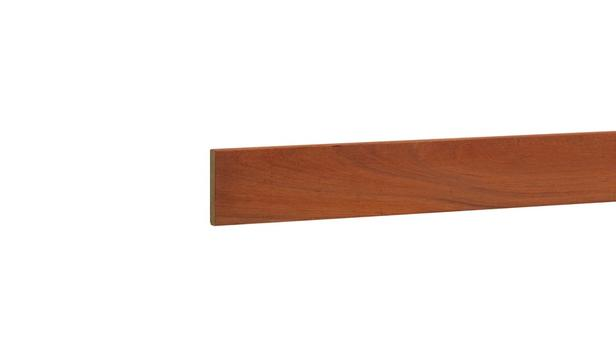 Kenmerken type: hardhout geschaafd nettomaat: 4x 27 mm lengte: 210 cm goed te verlijmen/schroeven/...