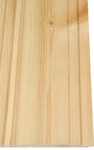 CanDo | Grenen schroten rustiek kraal 14x110 mm | 210 cm
