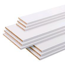 CanDo | Meubelpaneel wit structuur 18 mm | 305x20 cm