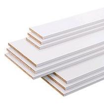 CanDo | Meubelpaneel wit structuur 18 mm | 305x40 cm