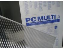 Polycarbonaat paneel 98x275cm HELDER