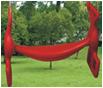 KBT | Kunststof dubbelzit rug aan rug | Rood