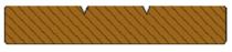 Bangkirai vlonderplank | Vlak profiel | 25x140 | 240cm