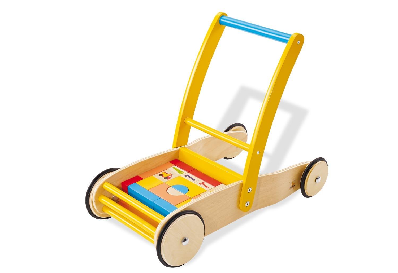 Loopwagen met blokken | Bodo