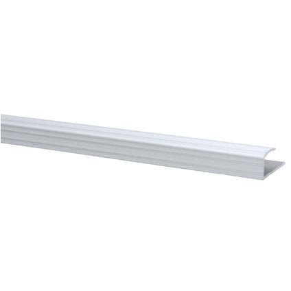 JéWé | Eindprofiel aluminium 32x15 mm 95 cm | 6 stuks | Zilver