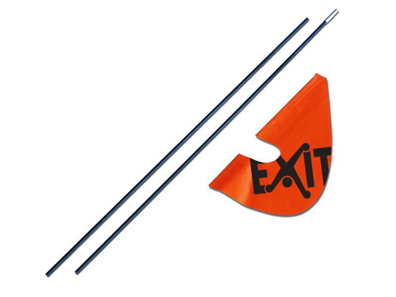 Exit | Veiligheidsvlag (Foxy Spider)