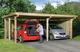 WEKA   Carport 618 Gr.1   Dubbel   576x398 cm
