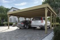 WEKA | Carport 609 Gr.1 | 576x591 cm