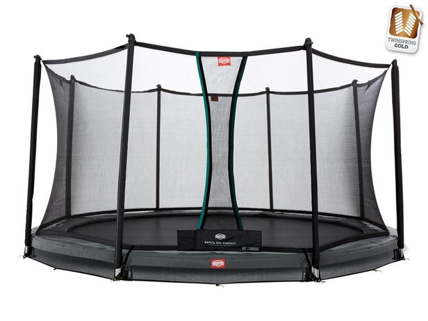 BERG InGround Champion Grey 380 + Safety Net Comfort