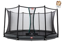 BERG InGround Champion Grey 380 + Safety Net Comfort