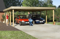 WEKA | Carport 609 Gr.2 | 576x784 cm
